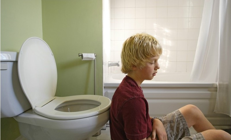 abdominal migraine in a child
