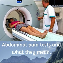 Abdominal pain tests and what they mean
